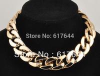 2014 New Fashion  2 Colors light  Chain Hot Star Choker Chunky Charm  CCB Necklace