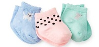 12 pairs/lot! Original Carter's Brand Good Quality Lovely Baby Boy/Girl's Cotton Sock for Infant Unisex 3-12 Months