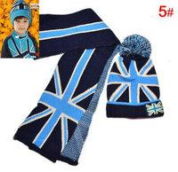 Boy's Winter beanie Hat Scarf set Children Christmas Gift bc15