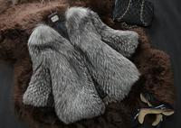 New Winter Genuine Whole-Hide Fox Fur Jacket  Fox Fur Coat  Warm Women Outerwear TP9014