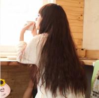 2014 Sex Products Hair Wigs Free Shipping Wig Long Hair Fluffy Bangs Female The Oligomerization Handsome Jiafa Kinkiness 1.0