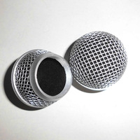 NEW Ball Head Mesh Microphone Grille Fits For shure SM 58 microphone