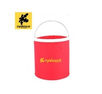 Free Shipping, Portable Outdoor Camping Folding PE Water Bucket 10L Wholesale