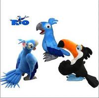 Rio Parrot 3pcs 8.5inch RIO plush Toy RIO Character Plush Doll Toys RIO Movie Blu & Jewel & Rafael Plush toy dolls