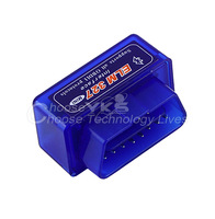 1pcs Car Auto Interface Scanner  Mini ELM327 V1.5 OBD2 II Bluetooth Diagnostic  Tool Compatible Phones Free / Drop Shipping