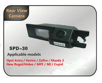 New Opel Astra / Zafira / Vectra / New Regal 09 Rear view camera CCD HD night vision