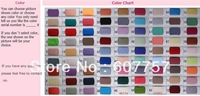 The Satin Color Chart