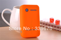 Dual USB 5V 1A/2A output battery charger 8600mah power bank built-in 3*18650 battery UPS free shpping 300pcs