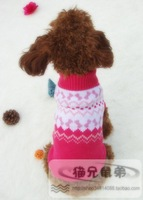 New 2013 Autumn And Winter Clothes Clothing Autumn And Winter Teddy Dog Sweater Clothes For Small Dogs