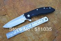 HINDERER XM-18B Wild boar titanium folding knife 440C blade with satin finish TC4 titanium alloy handle free shipping