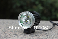 Christmas big sale 10pcs/lot 4000Lm 3x T6 Waterproof LED MTB Mountain Bicycle Bike Lamp Light Flashlight