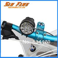 6000 Lumen High Power 7 x CREE XML T6 LED Front Bicycle Light Bike Lamp Headlight Headlamp Free Shipping -R15