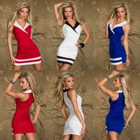 Hot Sale Sexy Lady Club Dress Clubwear Sleeveless Wear Lingeries Nightwear S-233 Shirt 3 color for choose