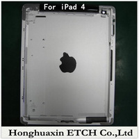 Free Shipping Original For iPad 4 4th Wifi Version Back Cover Housing Battery Cover for iPad 4 4th,16GB