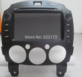 Car Radio Audio DVD Player GPS For MAZDA 2 2010~2012 Free Shipping