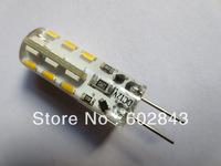 100pcs G4 2W 24SMD DC 12V Warm White/Cool White 3014 LED Lamp Light Bulbs