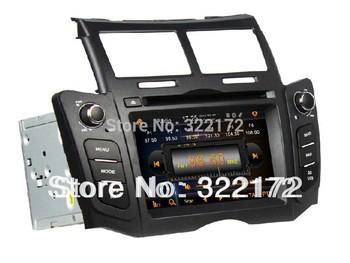 Car Radio Audio DVD Player GPS For TOYOTA YARIS 2005~2011 Free Shipping
