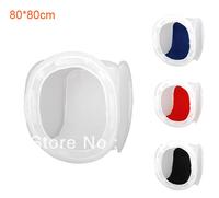 "free shipping 31.5"" 80cm Light Photo Cube Soft Box +4 Color Backdrops SoftBox for Photo Studio Accessories P0029"