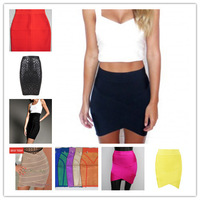 (DEIVE TEGER )free shipping 2013 new bandage women Skirts  8 colors  HL670a