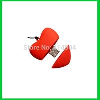 wholesale 1pcs/lot usb drive lot gift item pendrive 16gb with necklace mini key heart usb flash drives stick pen driver
