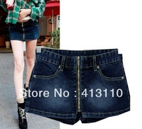 Size:S/M/L#MNH-A0006,Free Shipping,2013 Fashion Lady Denim Shorts,Sexy Hip Low Waist Woman Short Jeans,Hot Shorts Women Cotton