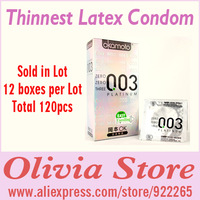 120 condoms/lot,Thinnest Latex Condom,Japan Brand,003 Series,Feel extremely good when Love Making,Sleeve,Safer Sex,Sex Products