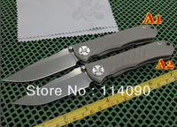 Freeshipping New Chris Reeve brand  UMNUMZAAN & U Senbenza  D2 Blade full tianium alloy TC4 Handle Folding knife (No.1 and No.2)
