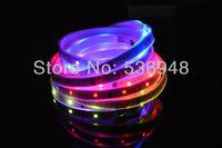 5m6803 IC 5050 digital RGB Strip,150LED waterproof IP67 tube dream magic color 12V Led Strip,30LED/m + free shipping