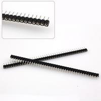 10Pcs Single Row 40Pin 2.54mm Round Female Pin Header SSY-24618