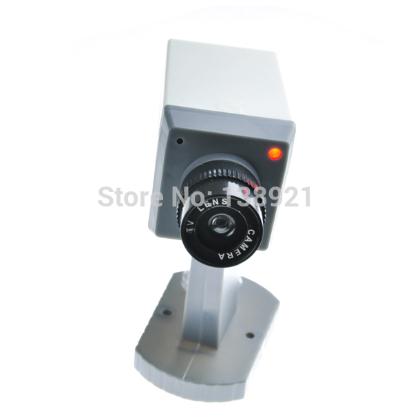 Top Cheap Security Use Dummy Realistic Looking Fake Security Camera Motion Detection Sensor(China (Mainland))