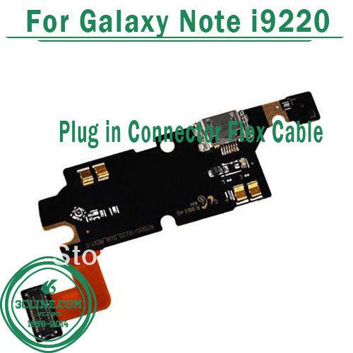 Гибкий кабель для мобильных телефонов OEM 20pcs/lot Samsung Galaxy Note i9220 For Samsung Galaxy Note i9220 стразы для мобильных телефонов oem 10pcs lot samsung 2 n7100 brand new