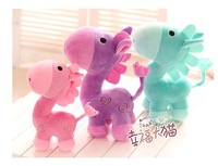 2014 alpaca horse super cute brand soft stuffed horse toy, 3 colors, 40cm 1pc,  graduation & birthday gift  for children, 1pc