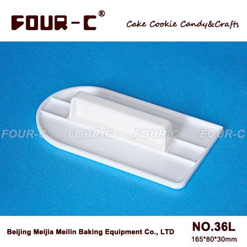 Envío gratis raspador de la torta, más suave de la torta, comúnmente utilizado herramientas de pasta de azúcar