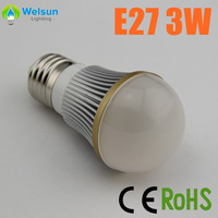 100X shenzhen factory 3W 5W 7W dimmable Bubble Ball bulb higher quality lower price