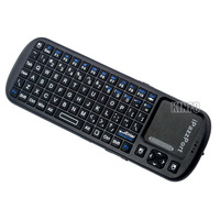 iPazzPort Universal IR Remote Control + 2.4G Mini Wireless Handheld Keyboard Mouse Touchpad For Smart TV IPTV, Google /Android