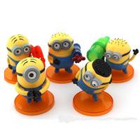 Despicable Me 2 Minion Toys PVC Action Figures 7.5cm-5cm