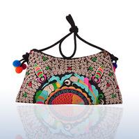 2013 New Original Ethnic Bohemian style beautifully embroidered bag handbag shoulder diagonal