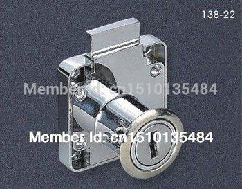 138-22 high quality xiaoboshi brand  furniture lock drawer lock for furniture drawer