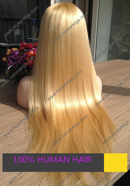 Super Long Silky Blonde Hair