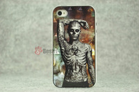1pcs, Sexy Tattoo Man With Retail packing, PC+TPU Skin Cover Case for iphone 5/5S, Best for iphone 5S Case, New Look