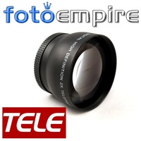 55mm 2.0X TELE Telephoto Lens 55 mm 2X  Tele Converter Lens for Canon Nikon Sony  Pentax Camera