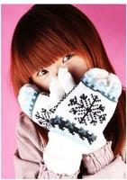 Special Explosion Models Plus Velvet Warm Winter Gloves, Wholesale Gloves Must Snowflakes Bunk Girls