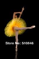 New Adult Platter Ballet Tutu Red classical ballet professional Platter hard organdy tutu  Free shipping
