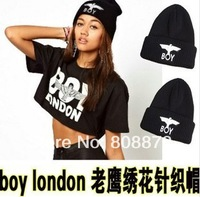 New HipHop bigbang GD BOY eagle benie/hats for Men/gril  Autumn Winter Knitted hat/Cap 5pcs/lot free shipping
