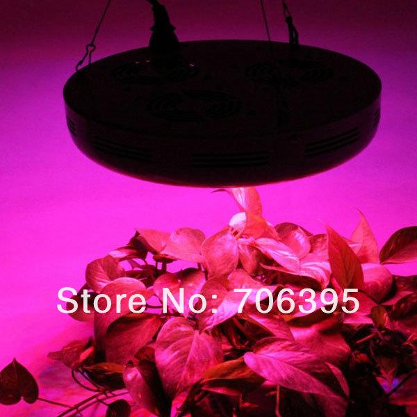 Venda quente Blackstar UFO levou crescer luz 150W com 50pcs 3W LED crescer planta lâmpada para Midicinal floração crescimento, 660nm, Dropshipping(China (Mainland))