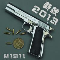 1:2.05 m1911 a1 metal pistol gun toy model metal detachable