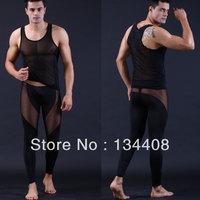 2014 New ultra-thin silk sheer fabric penis sheath Tight-fitting hipster trunk gay sexy  elastic silky Man's underwear