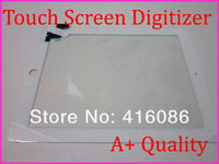 Brand new LCD LED Touch Screen Glass Digitizer fit for Apple iPad 2 A1395 A1396 A1397 with home botton/flex White +Free Shipping