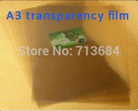 A3 Inkjet&Laser Transparency Film in Screen Printing screen press printing plate making