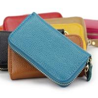 Spring gift high-quality beautiful leather girl key bag Fashion Leather Lady key bag  American style key bag  free shipping